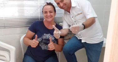 Vacinação imuniza colaboradores das Águas deBombinhas do vírus H1N1